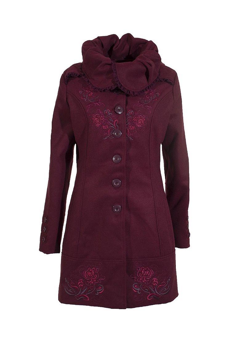 plus grand choix design de qualité sélectionner pour le dédouanement Manteau femme original large col