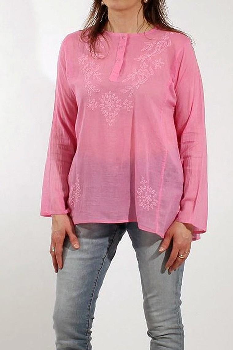 2020 Femme Inspiration Designer Extensible Bulle Manches Bouffantes Top shirt chemisier