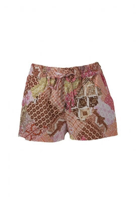 Safi casual printed modal shorts