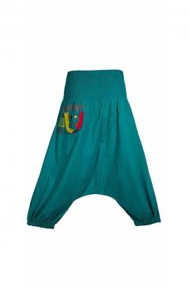 Harem pantalones cortos étnico mujer