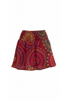 Skirt polyester printed Mandala
