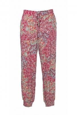 Pantalon fluide et léger motif ethnique