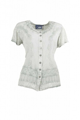 light blouse SW romantic embroidered
