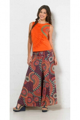 Pantalon baba cool large patte def