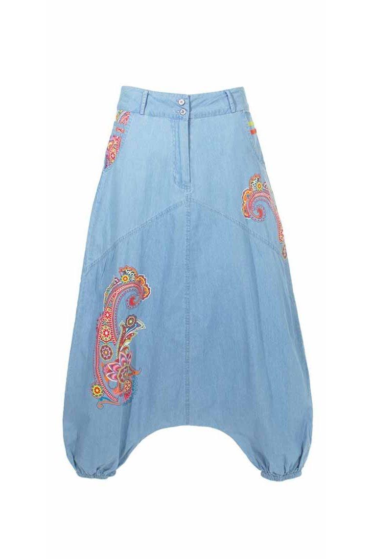 25e31c9893 ... Harem pantalones para las mujeres de algodón