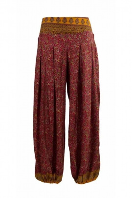 Pantalon bouffant original Sari hindi