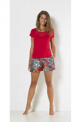 Short print runs, elasticated waist, polyester