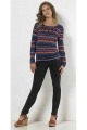 hippie chic sweater original for woman, graphic print