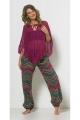 Poncho original hippie chic en maille filet avec des lacets devant