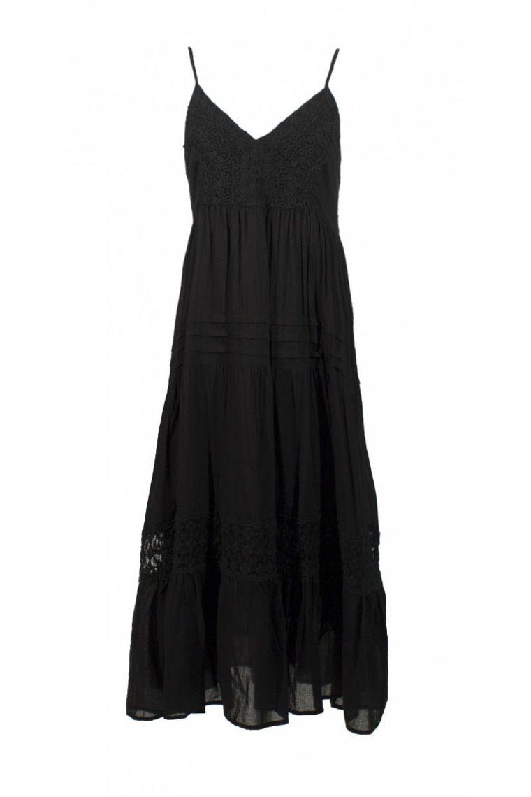 8be0b0de1e Vestido largo casual sólido