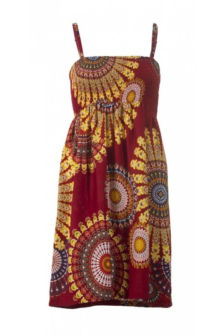 783f1cae34 ... Mini vestido de verano impreso