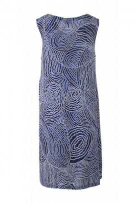 Robe courte simple et légère, imprimé aborigène ou mandalas