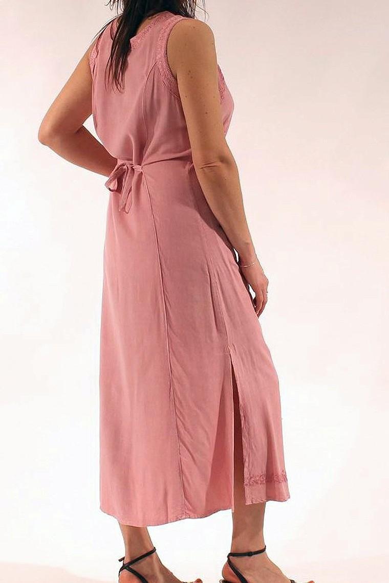 c0561470ba79b Belle robe longue de style décontracté chic