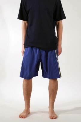 Men's polyester shorts