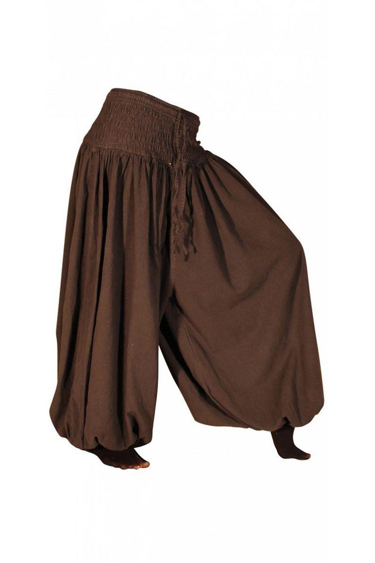 Harem united ethnic cotton for women, Aladdin style bouffant