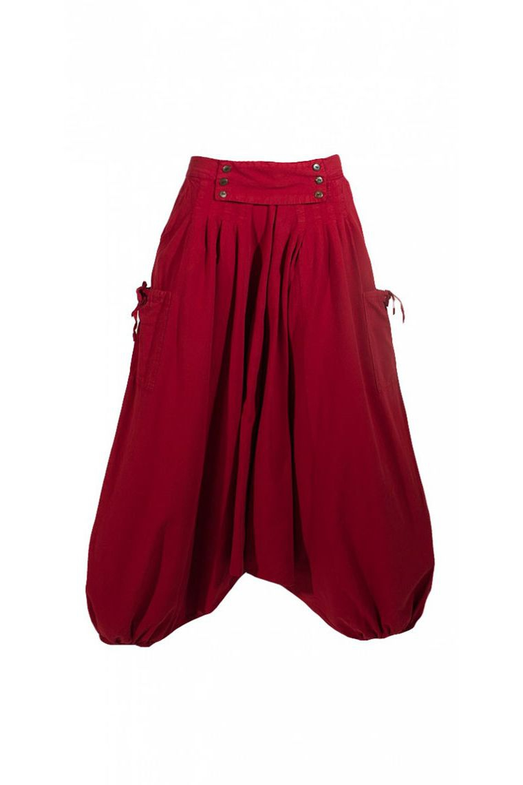 Harem Pantalones Etnicos Reino Para Mujer Estilo Hippie De Algodon De Colores
