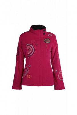 Original Jacket for women, high collar, finely corduroy