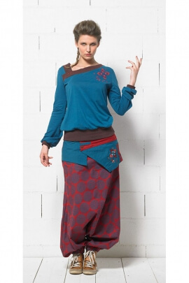 Original Harem Women, cotton, printed psychedelic
