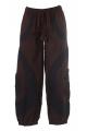 Harem Pants bicolor Men, spiral pattern, style teufeur