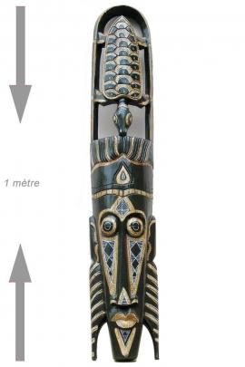 Máscara de la pared primitivo para el diseño de interiores de madera tallada de indonesia, el patrón, la tortuga