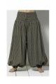 Original, striped, casual, cotton trousers