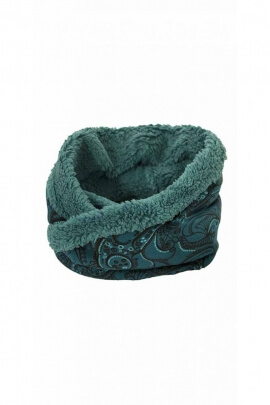 Écharpe snood hippie chic, tour de cou style tube