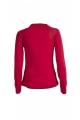 T-shirt with two-tone casual, collar and original bust, long sleeves