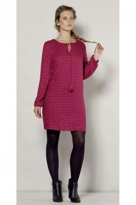 Robe fluide originale, grande taille, élégante et féminine, style hippie chic