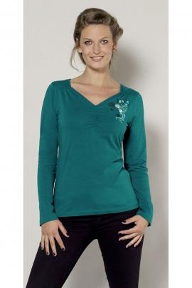 T-shirt chic trend kingdom, shirring, printing original