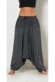 Harem pants original striped, style, hippie, cotton, Nepal
