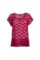 Tee-shirt ajouré original pour femme, moderne et stylé