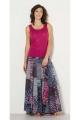 Long skirt ikat patchwork, original, atmosphere boho chic