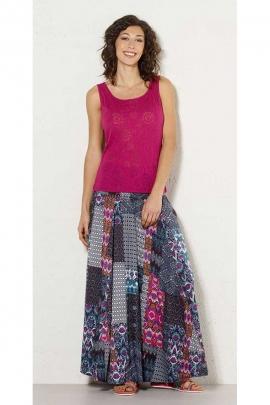 varios colores 60% barato características sobresalientes Faldas étnicas largas, estampadas, ligeras y originales ...