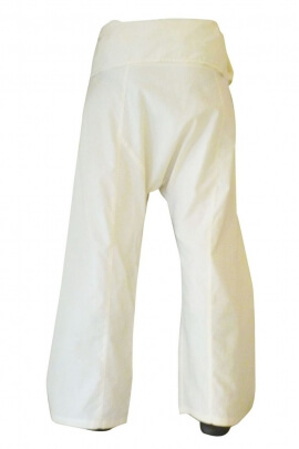 Trousers cotton, style fisherman thai, cup baba cool