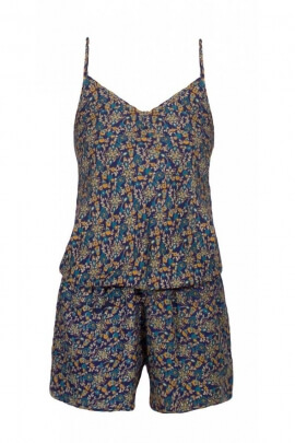 Playsuit sari original, and comfortable, fluid, with thin straps