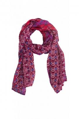 Grand foulard ethnique oriental, style hippie chic