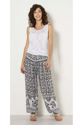 Baggy trousers indian, grounds elephants, colorful, style baba cool