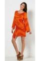 Minidress seventy's, python print colorful, style, hippie chic