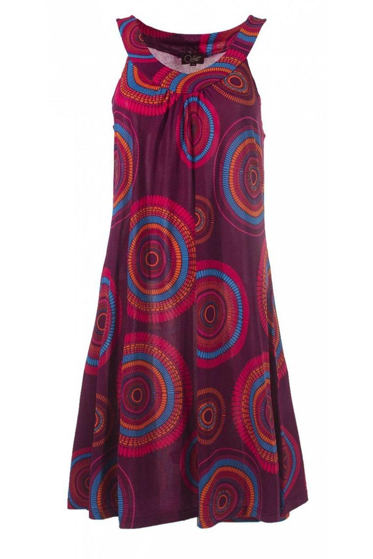 Sundress casual, and original, printed mandalas colorful
