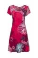 Dress fluid and comfortable short sleeve, pattern fireworks original
