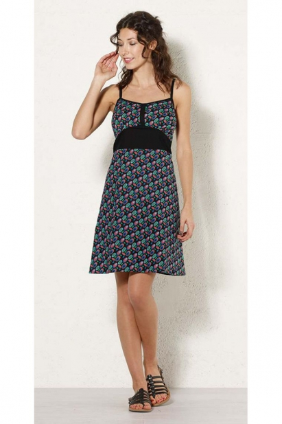 Dress hippie chic lightweight thin straps, sixties style