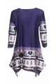 Tunic very chic with spikes stylish, patterned ice vintage