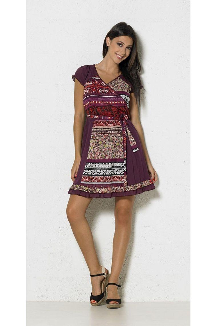 robe de grossesse ethnique originale coton colorée décontractée fleurie maternité enceinte tenue