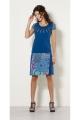 Short skirt ethnic colorful pattern wax african original