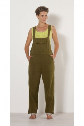 Jumpsuit solid casual for women, strapless, style, worker