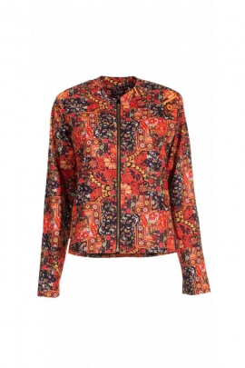 Jacket, short jacket, hippie chic, modern and super cool, doubled