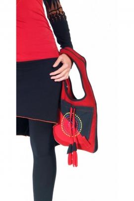 Bolsa de chaleco original y casual, de algodón