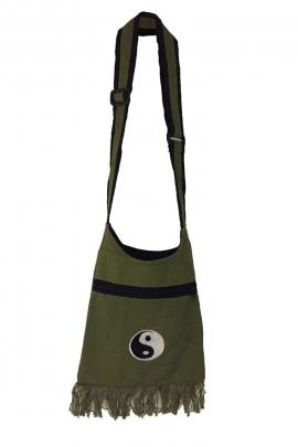 Sac baba cool original à franges et en coton, motifs chinois