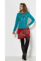 T-shirts ethnic long sleeve, bust, stylish, and original, in cotton jersey