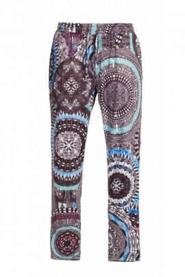 Pants original summer, fluid and fresh, on ethnic grounds